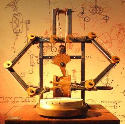 Robot Drummer, Da Vinci Machines and Robots