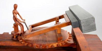 Naval Canon, Da Vinci Machines and Robots