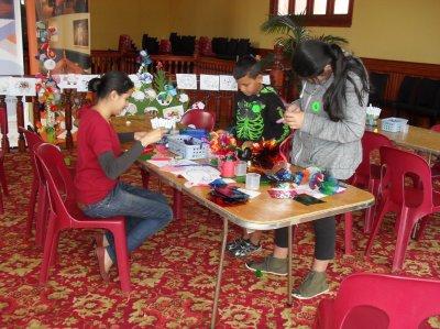 Rotorua Museum Craft Activities, 2013