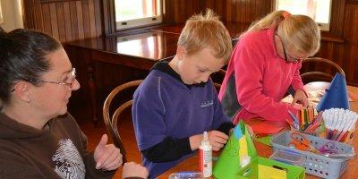October School Holiday Drop-In Craft Activities - Week 1