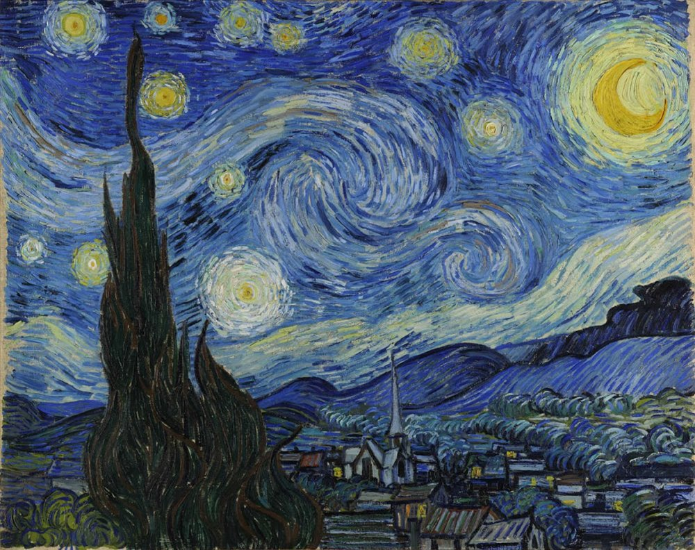 Riding the Starry Night