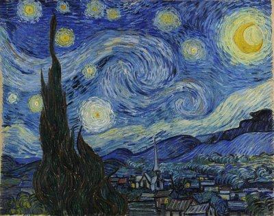 Vincent van Gogh. The Starry Night, 1887.
