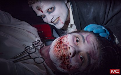 Volunteer to become part of this great horror event