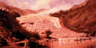 400x200 Pink and white terraces