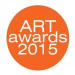 Art Awards in orange circle