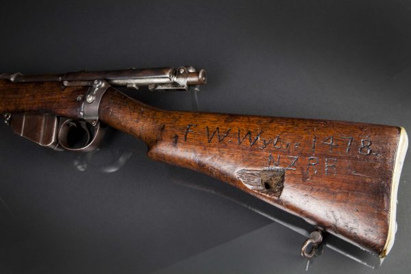 The rifle of Fred Wylie