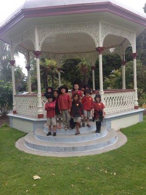 Kids enjoying Rotorua Museum Amazing Race