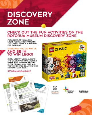 DISCOVER - share your learning and win LEGO!