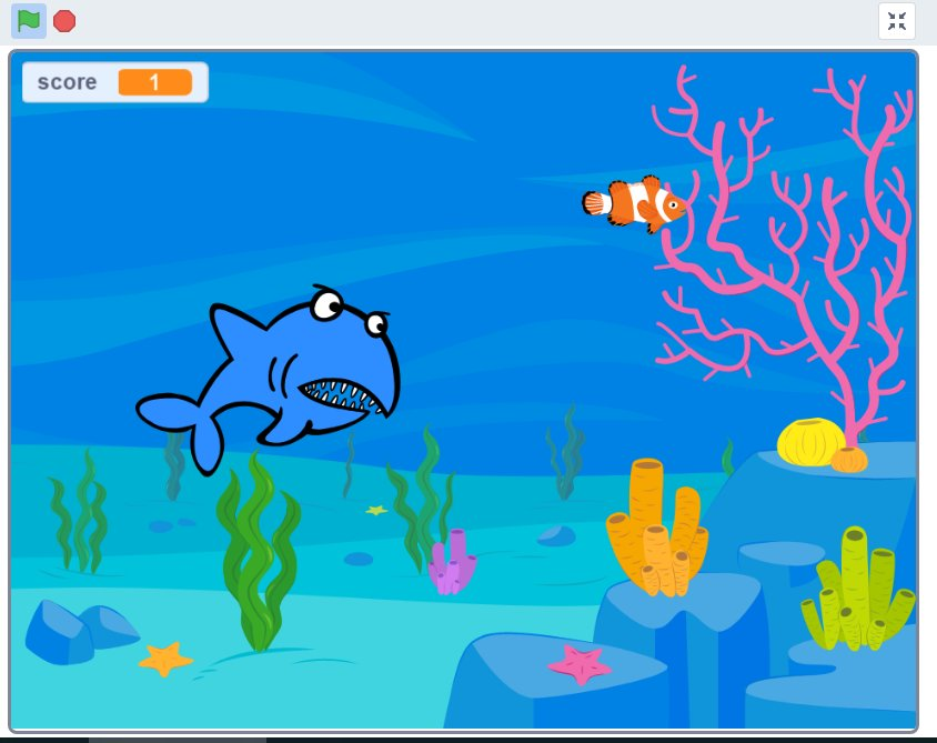 DISCOVER - Learn to Code – Hungry Shark
