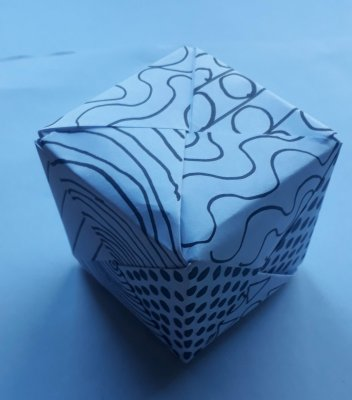 DISCOVER - Create a Patterned Cube
