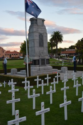 Field of Remembrance Crosses return to families