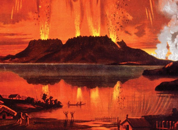 Tarawera Extreme Natural Events