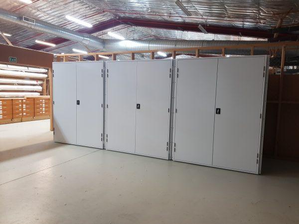 Cloak units Rotorua Museum