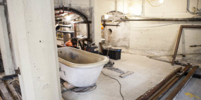 Bath Removal